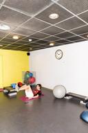 De sportschool voor medewerkers van de Vrije Universiteit.