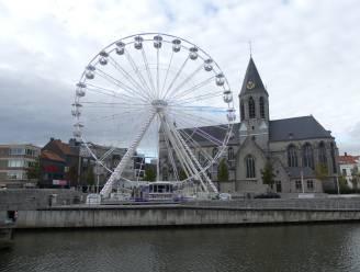 Reuzenrad draait vanaf half oktober terug rondjes op Sint-Poppoplein