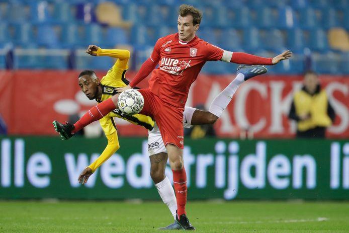 Peet Bijen, aanvoerder van FC Twente.