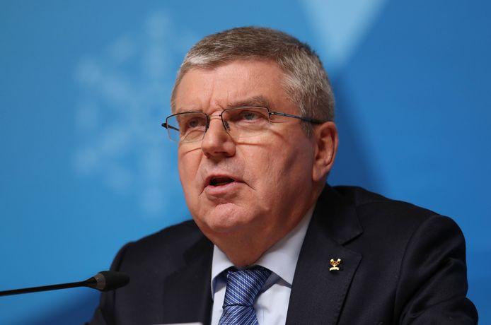 IOC-baas Thomas Bach.