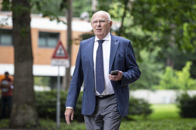 Michael van Praag, het Nederlandse bestuurslid bij de Uefa. Beeld ANP