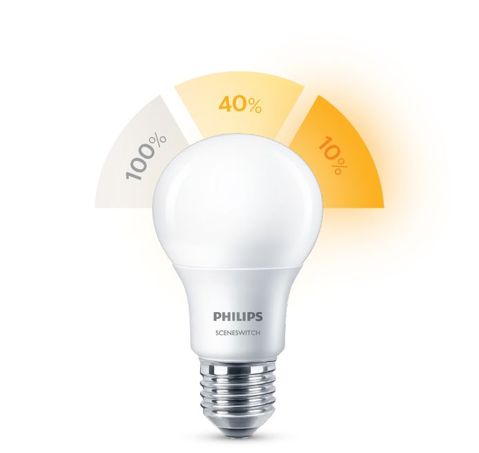 Philips SceneSwitch LED lamp