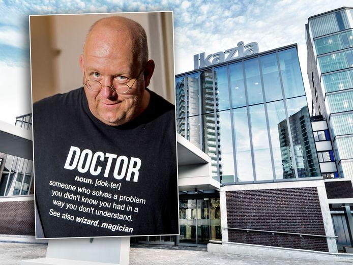 Neuroloog Jan Bonte werd door het Ikazia Ziekenhuis aan de kant gezet.