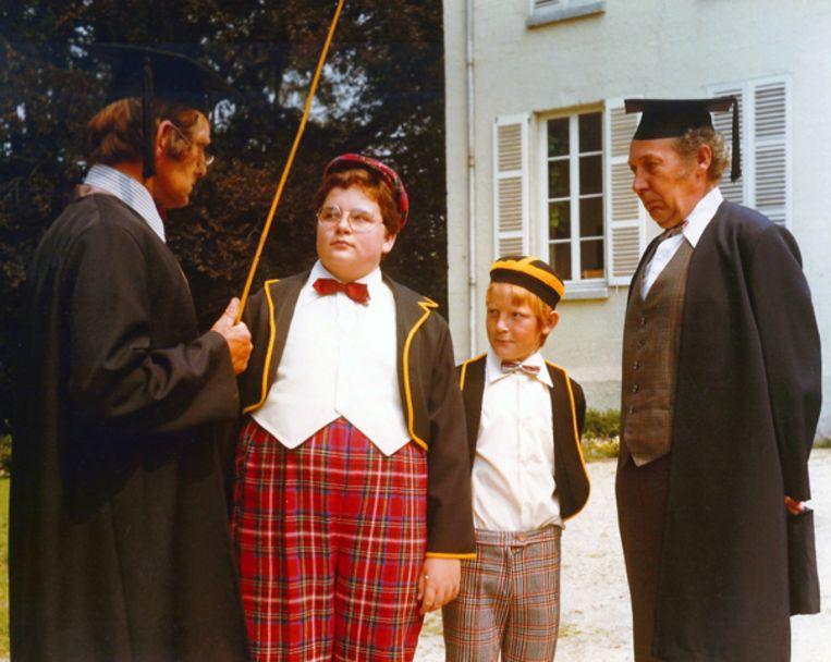 Jan Kruyk, Tom Jansen, Richard Vroomen en Frank Keulen in