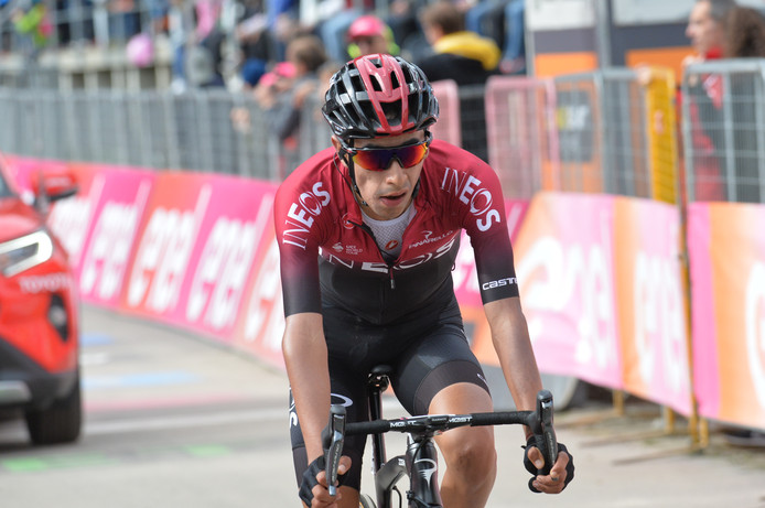 Sosa in de afgelopen Giro d'Italia.