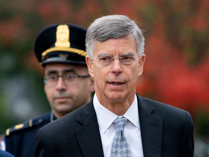 William Taylor, de interim-ambassadeur in Oekraïne, is de eerste die ondervraagd zal worden.