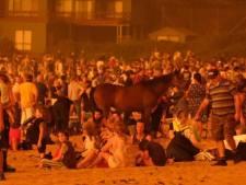 Opération de sauvetage pour les personnes bloquées par les incendies en Australie