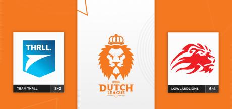 Wie gaat er naar de finale van de Dutch League: Team THRLL of LowLandLions?
