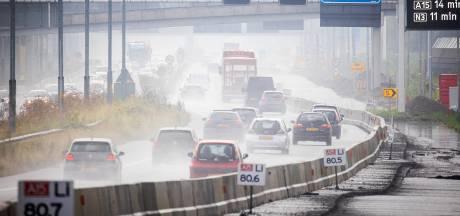 Automobilisten opgelet: deel van A15 tussen Gorinchem en Papendrecht dit weekend dicht