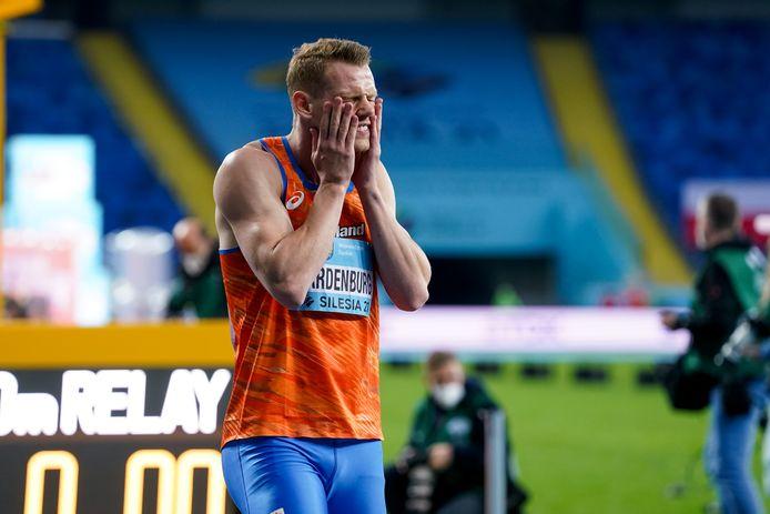Nout Wardenburg liep tijdens de FBK Games op de 400 meter horden, maar zal zich snel weer concentreren op de 400 meter vlak.