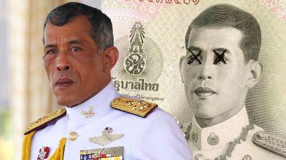 """Thai massaal op straat in protest tegen regering en controversiële koning Rama X: """"Hervorm de monarchie"""""""