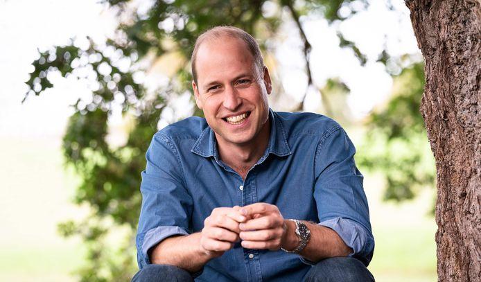 Prins William spreekt tijdens het wereldwijde online event 'Countdown'.