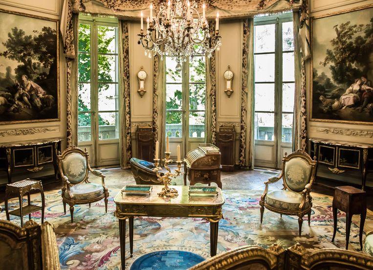 De salon in het Museum Nissim de Camondo. Beeld Laszlo Horvat / MAD Paris