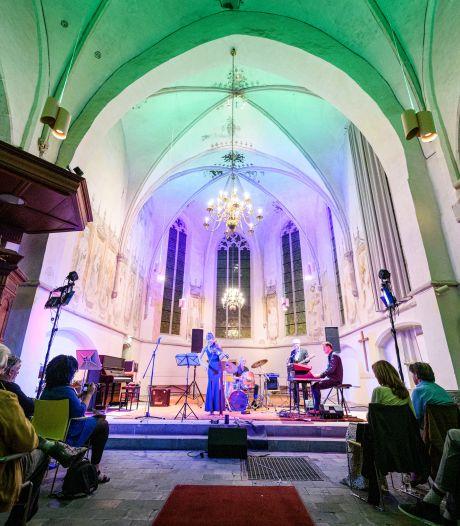 Jazz in de kerk: vanwege corona wijken muzikanten uit naar Oude Mattheüs in Eibergen