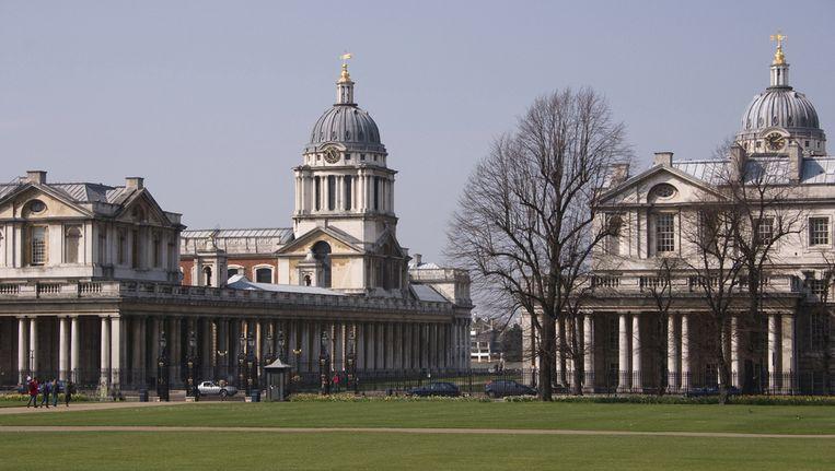 Het Royal British Obversatory in Greenwich. Beeld UNKNOWN