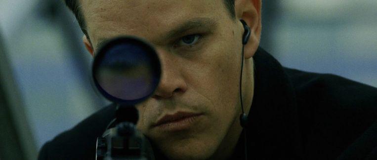 Matt Damon in The Bourne Supremacy. Beeld