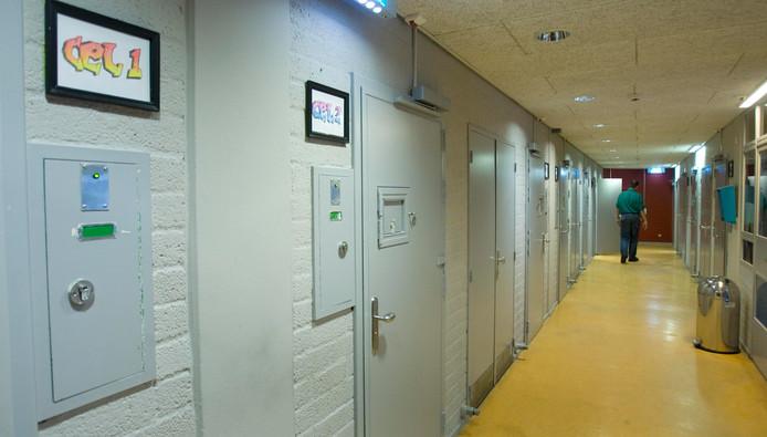 De celdeuren van de cellen van het Pieter Baan Centrum.