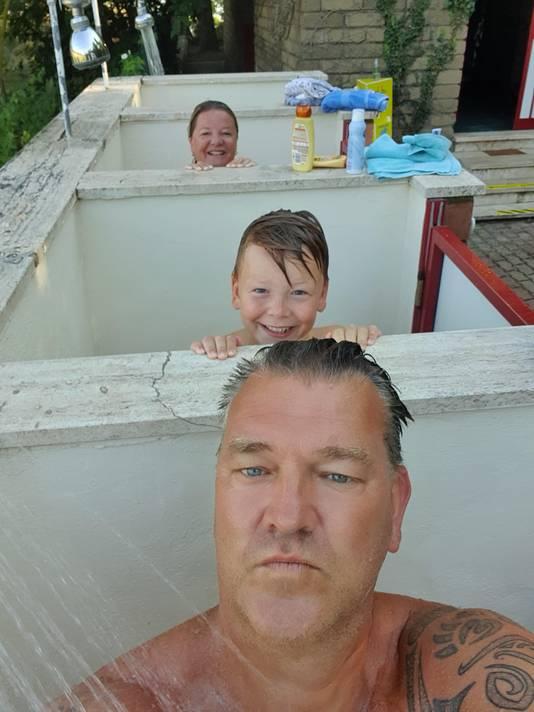 Familie Vink op vakantie