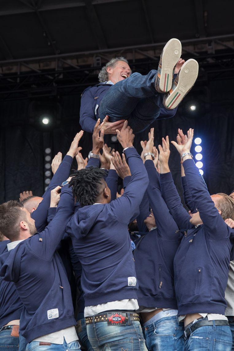 Kampioenenmaker Michel Preud'homme verkozen tot 'Trainer ...