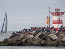 Zeilers Volvo Ocean Race vertrokken naar Scheveningen