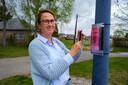 Hilde Van Bulck heeft een moppenwandeling met GR-codes uitgewerkt.