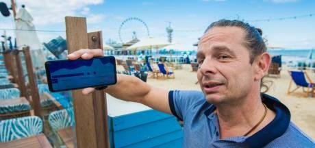 Strandtenthouder Marco is weerdiensten zat: 'Foute voorspelling kost mij zo 10.000 euro per dag'