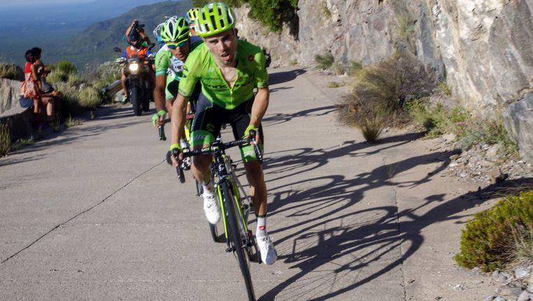 André Cardoso (vooraan) trekt naar Trek-Segafredo. Beeld Photo News