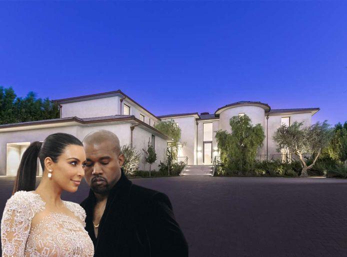 La villa à 60 millions de Kim et Kanye.