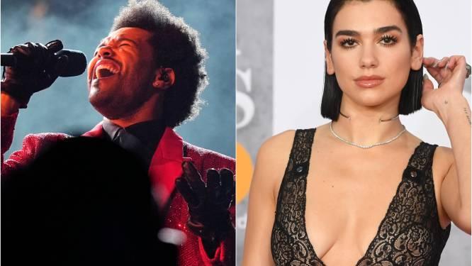 Ook The Weeknd en Dua Lipa live voor publiek bij BRIT Awards