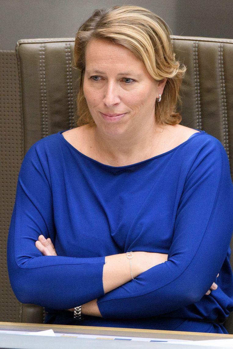 Caroline Gennez (sp.a). Beeld Photo News