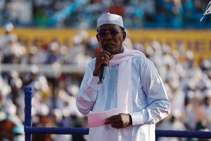 President Idriss Déby Itno regeert het land nu al dertig jaar met ijzeren hand.