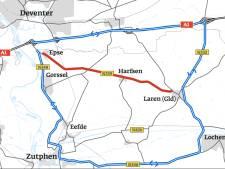 Weg N339 tussen Laren en Epse maand lang afgesloten