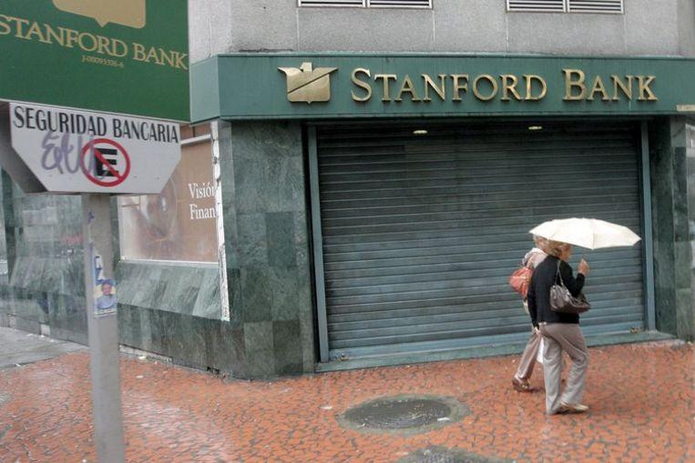 In opdracht van het Internationaal Monetair Fonds en de Wereldbank werd al in 2005 een rapport uitgebracht over de witwaspraktijken bij Stanford International Bank in het belastingparadijs Antigua op de Antillen. Foto EPA Beeld