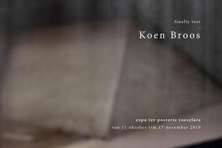 Koen Broos exposeert in Ter Posterie.