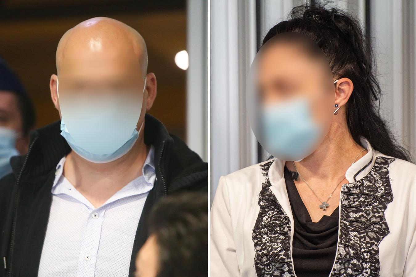 Beschuldigden Marc Laudet en Ashley Van de Velde.