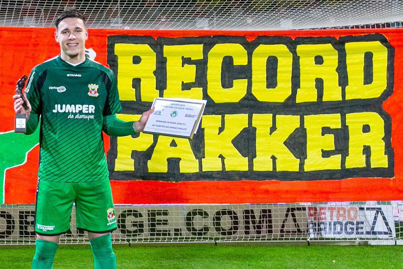 Jay Gorter. match Go Ahead Eagles - NEC