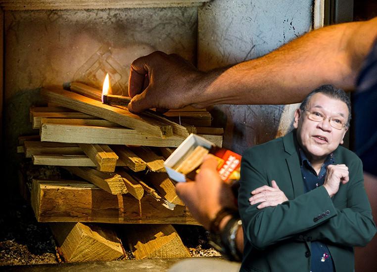 Roy Grünewald over de kwestie rondom de houtkachel van burgemeester Melissant.