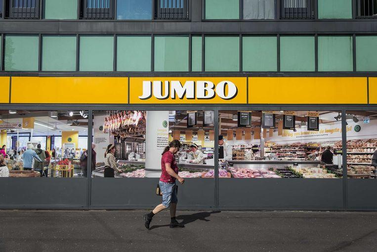 Een vestiging van de supermarktketen Jumbo in Groningen.