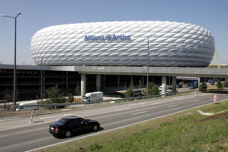'De nieuwe Arena gaat een beetje lijken op de Allianz Arena van Bayern München' Beeld afp