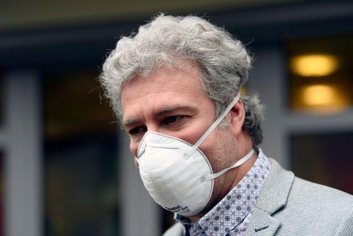 Alain Maron, le ministre bruxellois de la Santé.