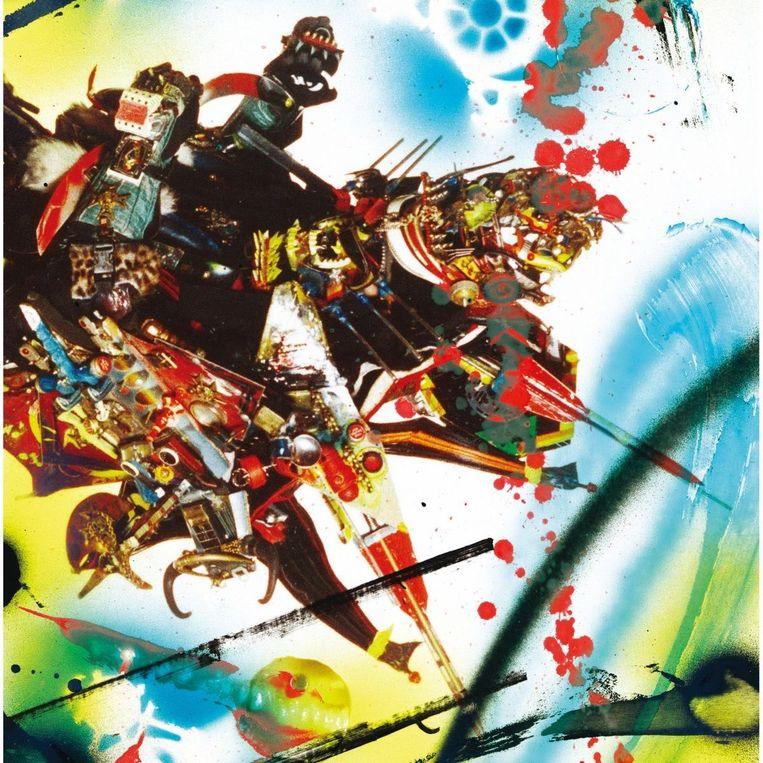 'This Is What You Made Me' (2003) van Rammellzee. Beeld Humo