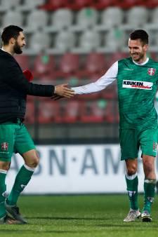 Verlossing voor trainer Zoutman én FC Dordrecht; driepunter bij Jong Ajax na zeven duels zonder zege