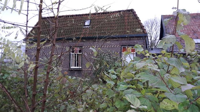 De achterkant bam Urkerveste nummer 9 in Nieuwegein.