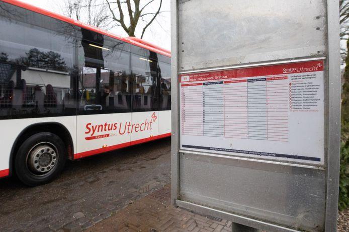 Een bus van Syntus Utrecht.