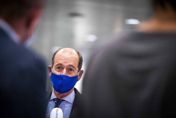 Burgemeester Sander Schelberg.