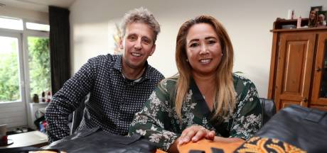 Resmi helpt door haar borstkanker nu samen met haar broer Francis kansarme mensen op Bali