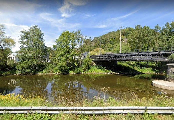 Une personne est tombée dans l'Ourthe, à Sy (province de Liège). Depuis, elle est portée disparue.