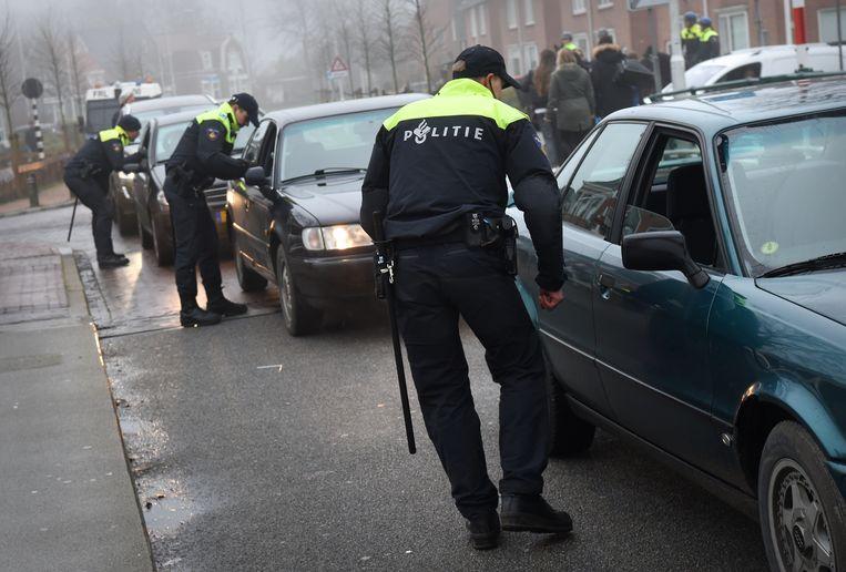 Vijftien jaar geleden, op het hoogtepunt van de misdaadgolf, telde de politie 93 misdrijven voor iedere duizend inwoners. Vorig jaar waren dat er nog 49 per duizend inwoners. Beeld Marcel van den Bergh / de Volkskrant