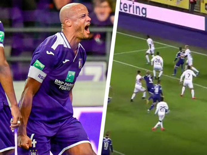 Kompany scoorde eind februari vorig jaar in de 6-1-zege tegen Eupen.