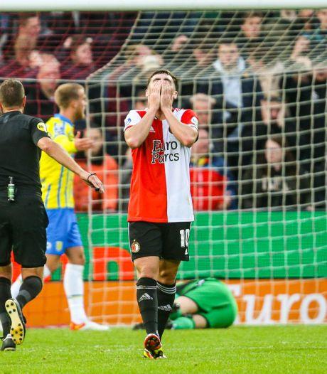 Sensatie in de Kuip: Feyenoord laat in eigen huis punten liggen tegen RKC